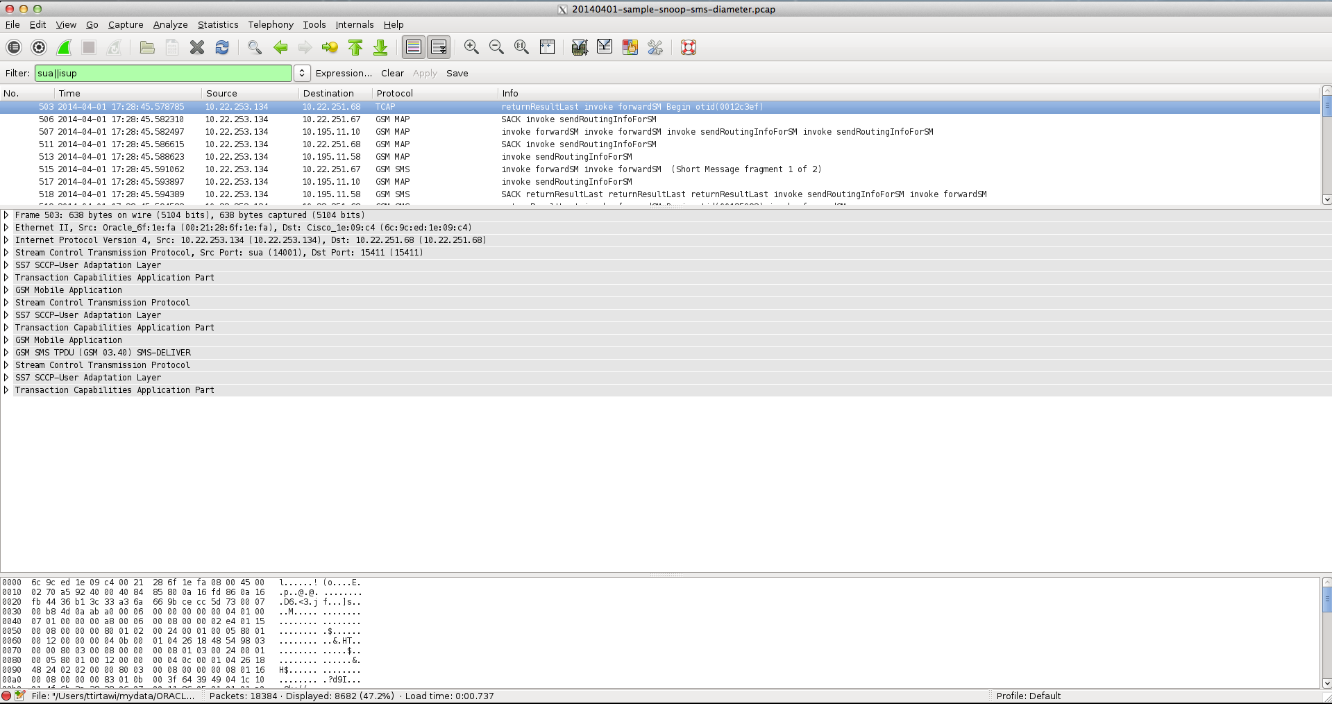 Wireshark Dengan Clearlook GTK+