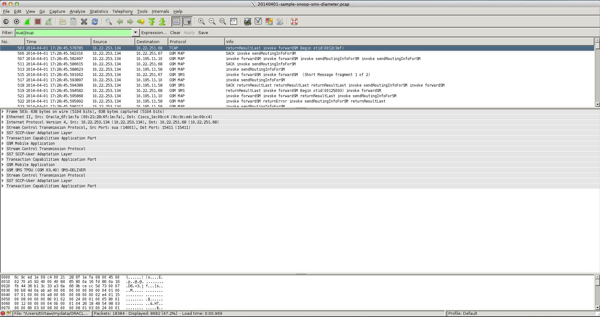 Wireshark Default Tanpa Clearlook GTK+